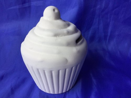 Cupcake Muffin Sparkasse incl. Stopfen Ø 9 cm, Höhe 11 cm