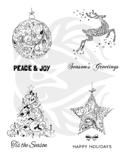MAYCO Designer Silkscreen Greetings Seasons